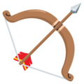 Bow and Arrow on EmojiOne 3.1