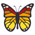 Butterfly on EmojiOne 3.1