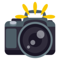 Camera With Flash on EmojiOne 3.1