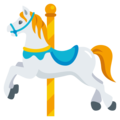 Carousel Horse on EmojiOne 3.1