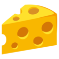 Cheese Wedge on EmojiOne 3.1