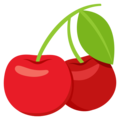 Cherries on EmojiOne 3.1