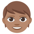 Child: Medium Skin Tone on EmojiOne 3.1