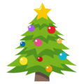 Christmas Tree on EmojiOne 3.1
