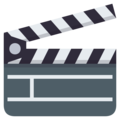 Clapper Board on EmojiOne 3.1