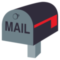 Closed Mailbox With Lowered Flag on EmojiOne 3.1