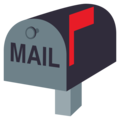 Closed Mailbox With Raised Flag on EmojiOne 3.1