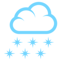 Cloud With Snow on EmojiOne 3.1