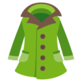 Coat on EmojiOne 3.1