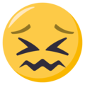 Confounded Face on EmojiOne 3.1