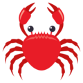 Crab on EmojiOne 3.1