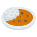 Curry Rice on EmojiOne 3.1