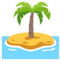 Desert Island on EmojiOne 3.1