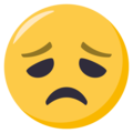 Disappointed Face on EmojiOne 3.1