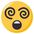 Dizzy Face on EmojiOne 3.1