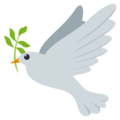 Dove on EmojiOne 3.1