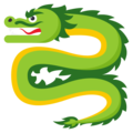 Dragon on EmojiOne 3.1