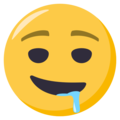 Drooling Face on EmojiOne 3.1