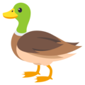 Duck on EmojiOne 3.1