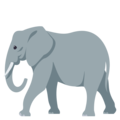 Elephant on EmojiOne 3.1