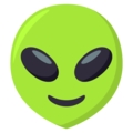 Alien on EmojiOne 3.1
