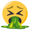 Face Vomiting on EmojiOne 3.1