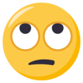 Face With Rolling Eyes on EmojiOne 3.1