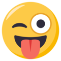 Winking Face With Tongue on EmojiOne 3.1