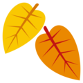 Fallen Leaf on EmojiOne 3.1