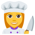Woman Cook on EmojiOne 3.1