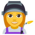 Woman Factory Worker on EmojiOne 3.1