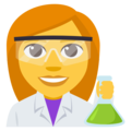 Woman Scientist on EmojiOne 3.1
