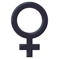 Female Sign on EmojiOne 3.1