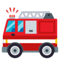 Fire Engine on EmojiOne 3.1
