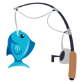 Fishing Pole on EmojiOne 3.1
