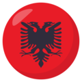 Albania on EmojiOne 3.1