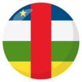 Central African Republic on EmojiOne 3.1