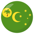 Cocos (Keeling) Islands on EmojiOne 3.1