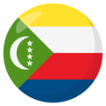 Comoros on EmojiOne 3.1