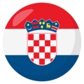 Croatia on EmojiOne 3.1