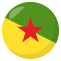 French Guiana on EmojiOne 3.1