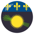 Guadeloupe on EmojiOne 3.1