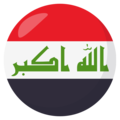 Iraq on EmojiOne 3.1