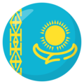 Kazakhstan on EmojiOne 3.1