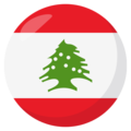 Lebanon on EmojiOne 3.1