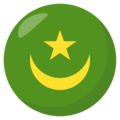 Mauritania on EmojiOne 3.1
