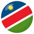 Namibia on EmojiOne 3.1