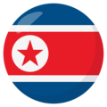 North Korea on EmojiOne 3.1