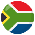South Africa on EmojiOne 3.1