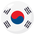 South Korea on EmojiOne 3.1
